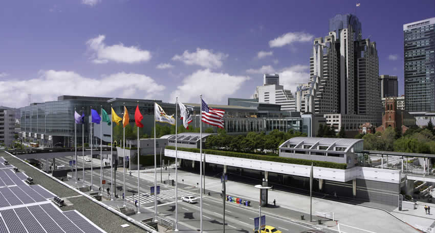 Moscone Convention Center Skyview